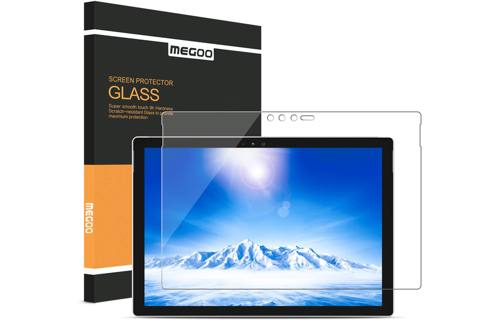 MEGOO for Surface Pro 7 Tempered Glass