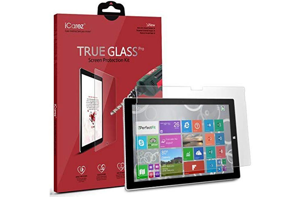 iCarez True Glass Pro for Surface Pro 7