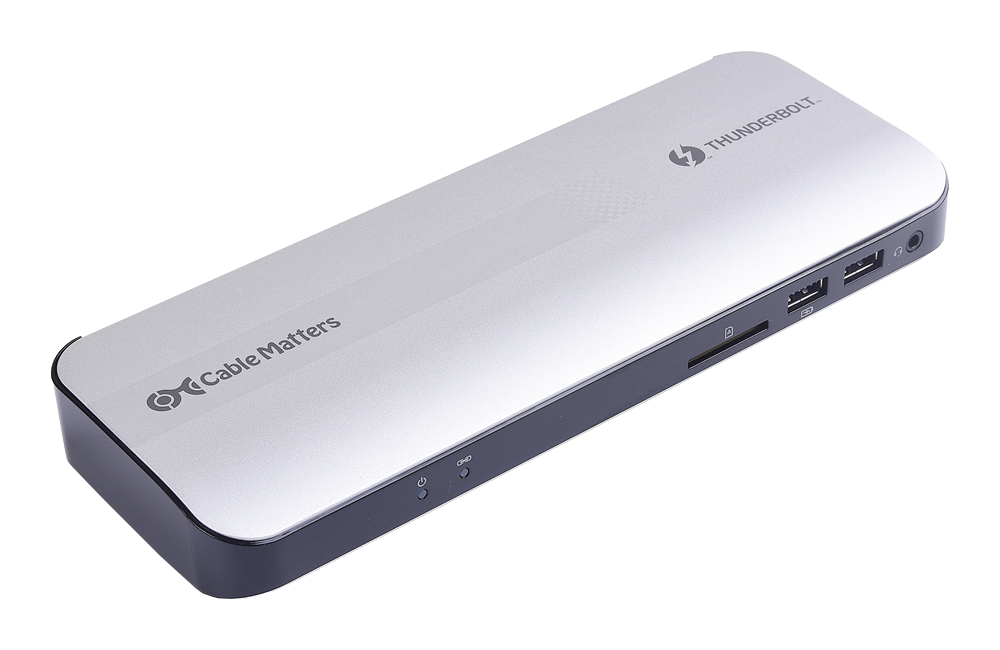 Cable Matters Thunderbolt 3 Dock with HDMI 2.0 (107014-SIL)