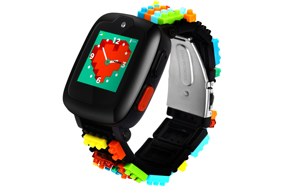 Omate X Nanoblock - Kids Phone watch with 2 way video calls