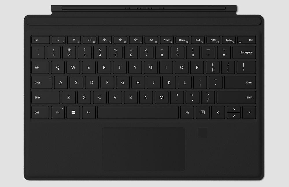 There is no other best keyboard available than Microsoft Type Cover