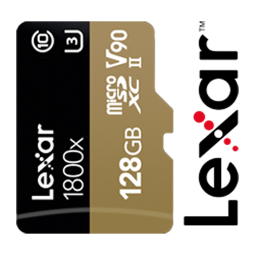 Lexar Professional 1800x microSD Card