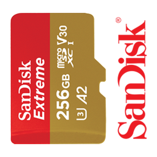 SanDisk Extreme A2 256GB SD Card