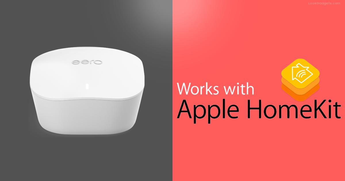 Amazon's new Eero update now support Apple's HomeKit