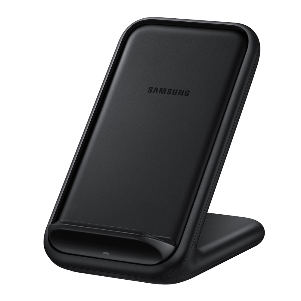 Samsung 15W Fast Wireless Charger Stand EP-N5200TBEGUS - Recommended for Galaxy S20 Ultra and S20+
