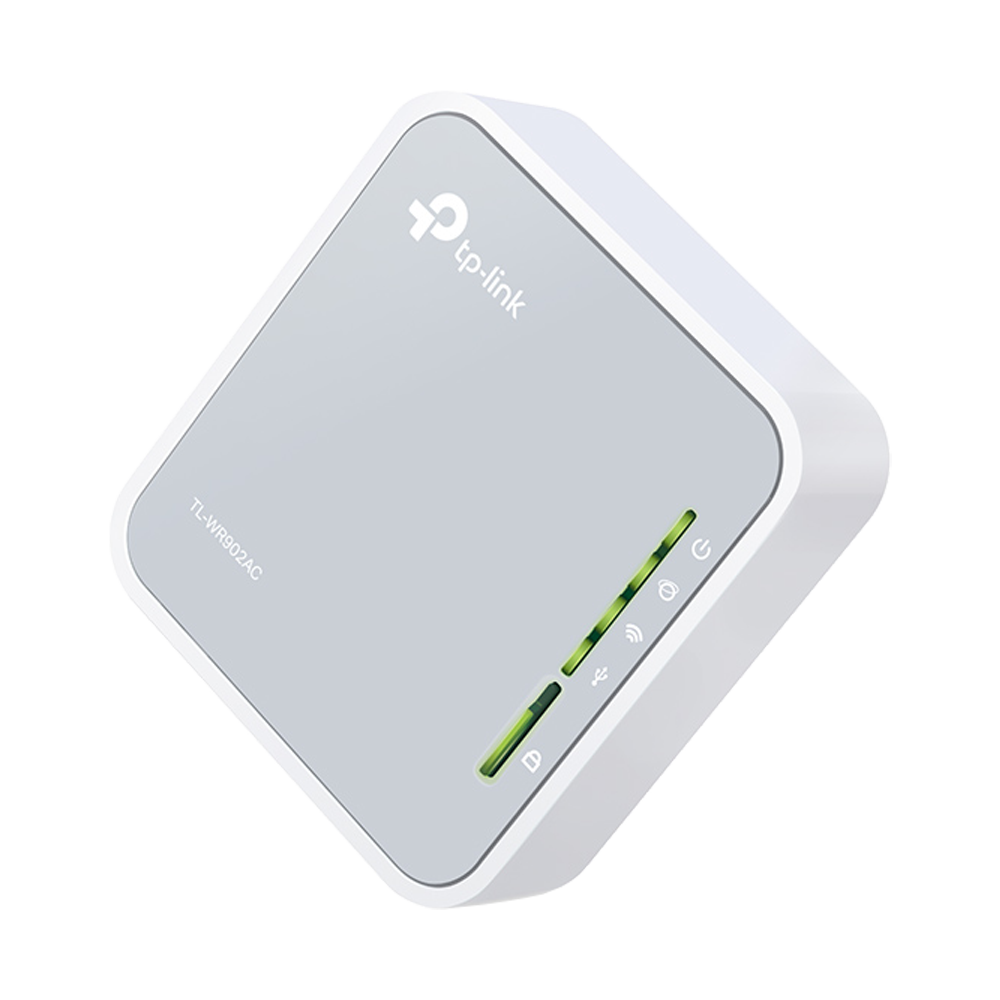 TP-Link AC750 Portable Nano Travel Router (TL-WR902AC)