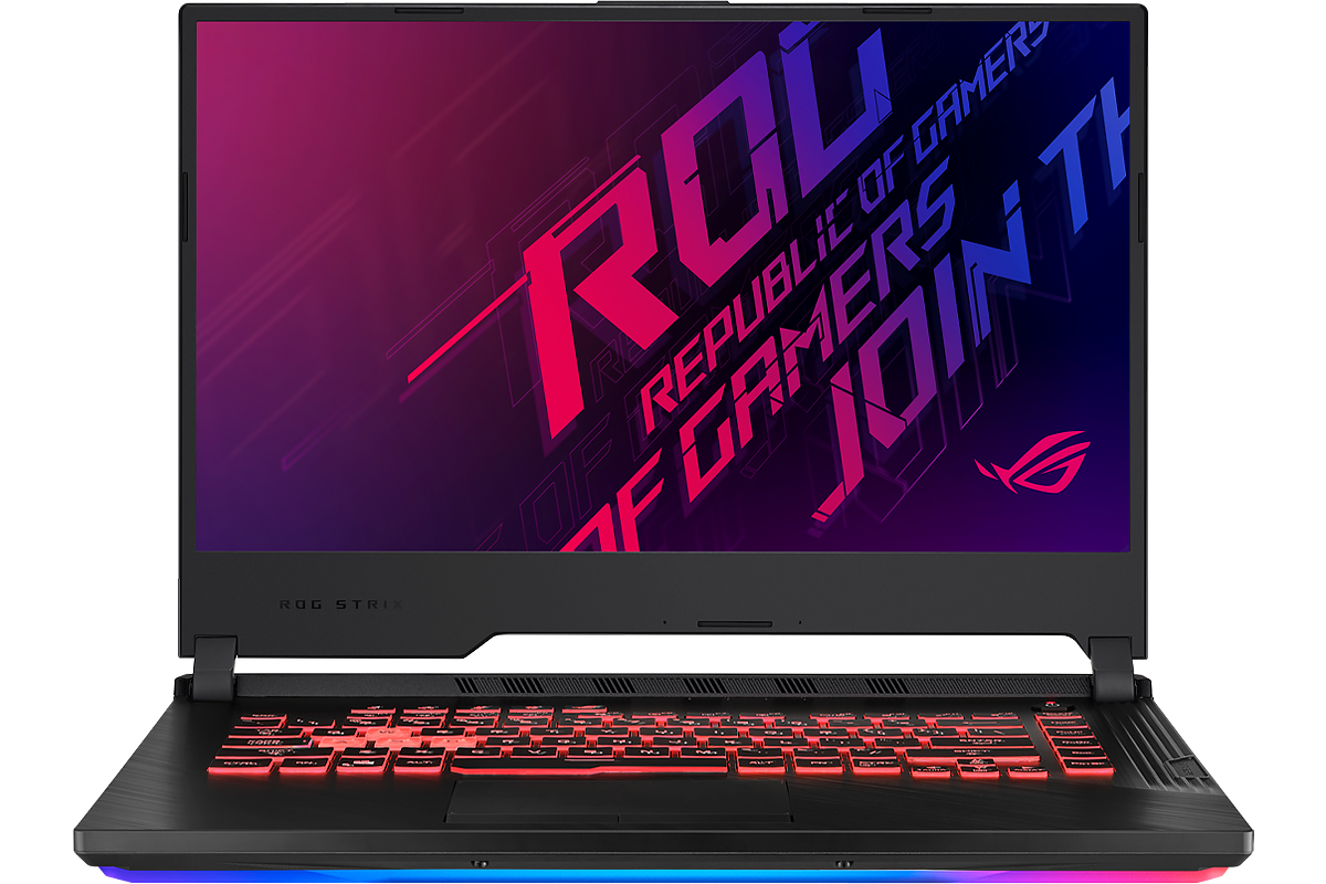 ASUS ROG Strix G (GL531) with i7-9750H, 16GB RAM, GTX 1650, and 1TB NVMe SSD