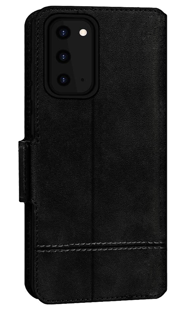 FYY Genuine Leather Wallet Case for S20