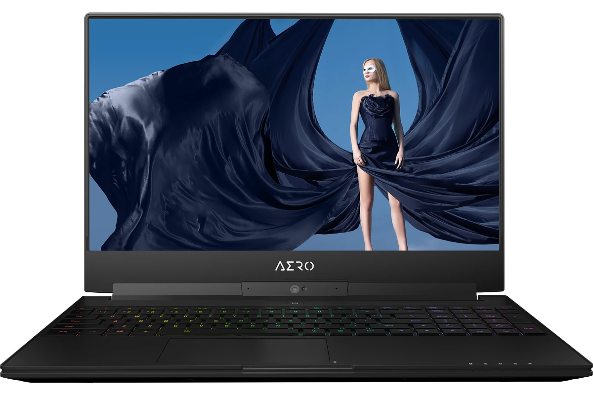 GIGABYTE AERO 15 with i9-9980HK, RTX 2080, 2TB M.2 SSD, 64GB RAM, and 144Hz Ultra-HD Thin Bezel OLED Display