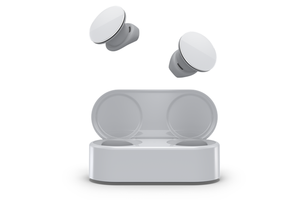 Microsoft Surface Earbuds for Music Entertainment and Calls