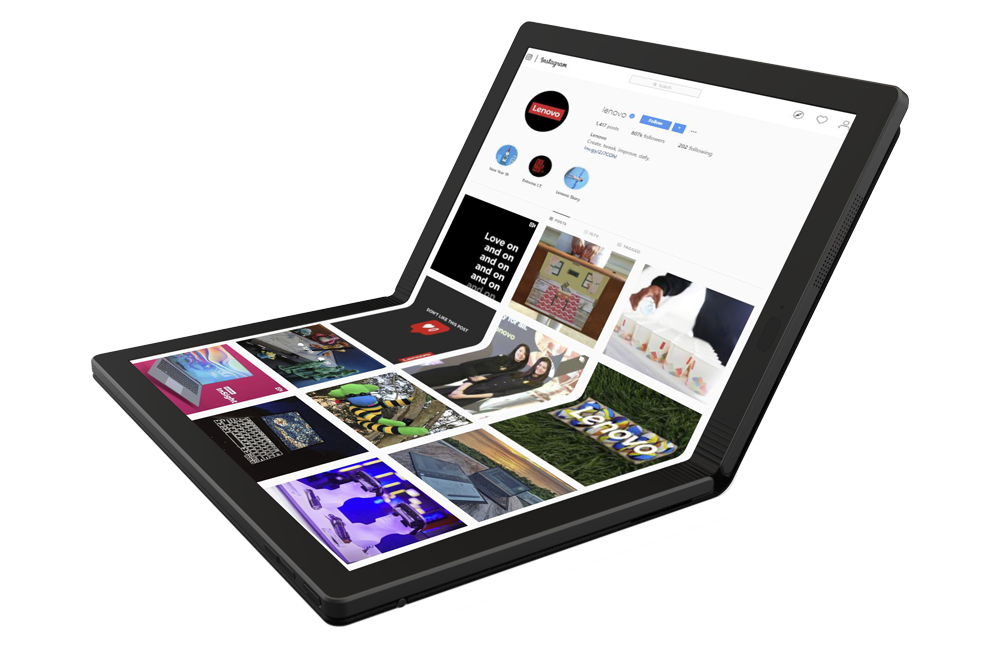 Lenovo ThinkPad X1 Fold - The foldable OLED Laptop with 5G