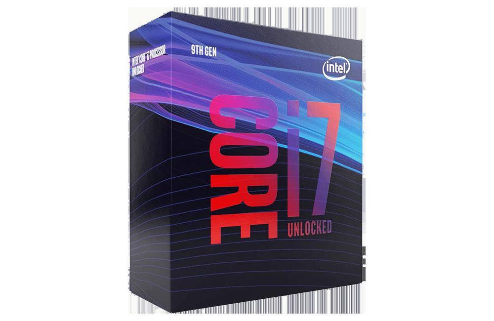 Intel Core i7-9700K Unlocked Processor for Virtual Reality System