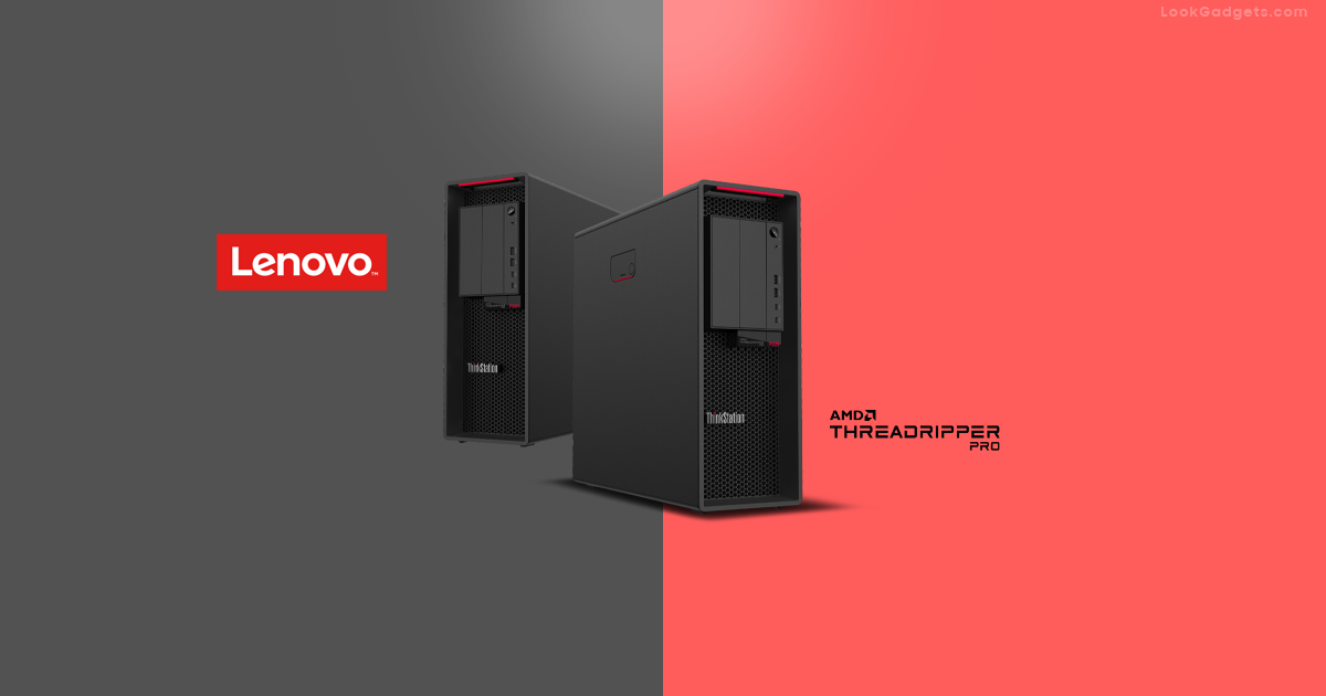 Lenovo ThinkStation P620 with AMD Ryzen Threadripper Pro