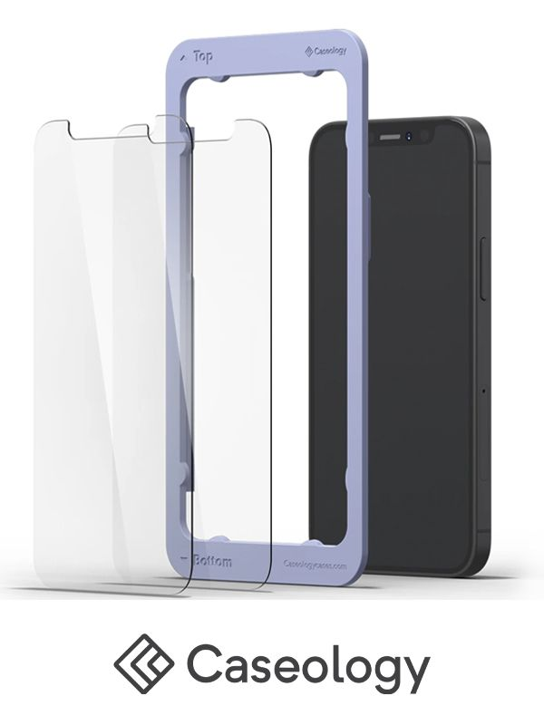 Caseology iPhone 12 Tempered Glass
