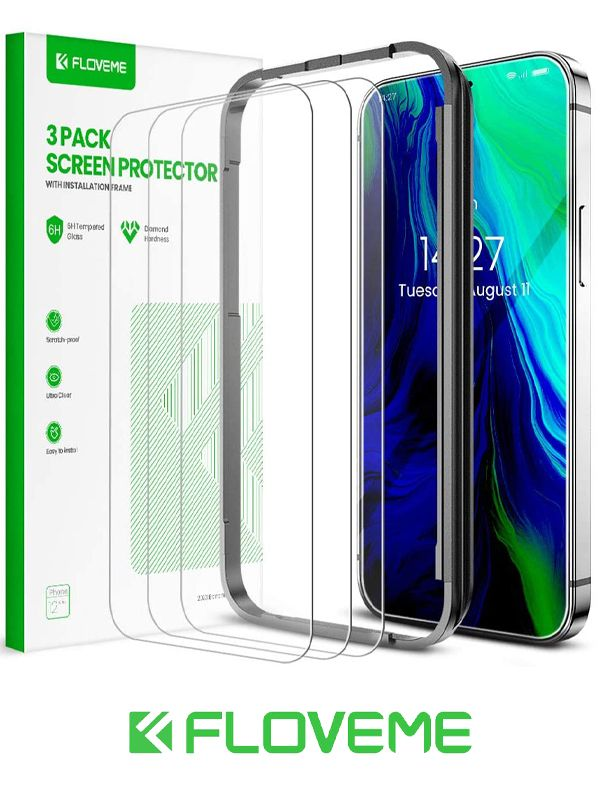 Best-selling glass protector for iPhone 12