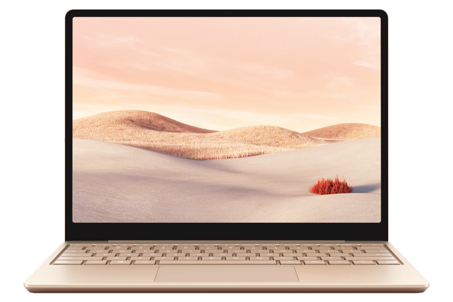 Microsoft Surface Laptop Go in Sandstone Color