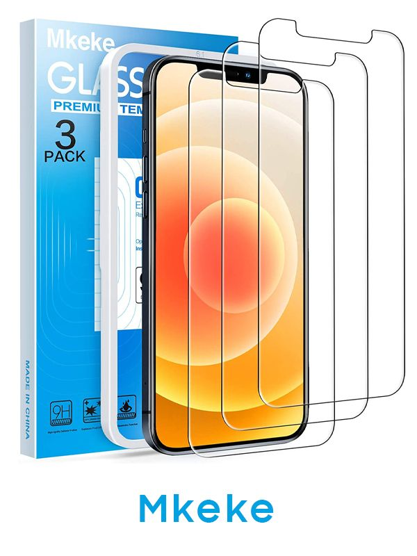 Mkeke iPhone 6.1-inch Tempered Glass