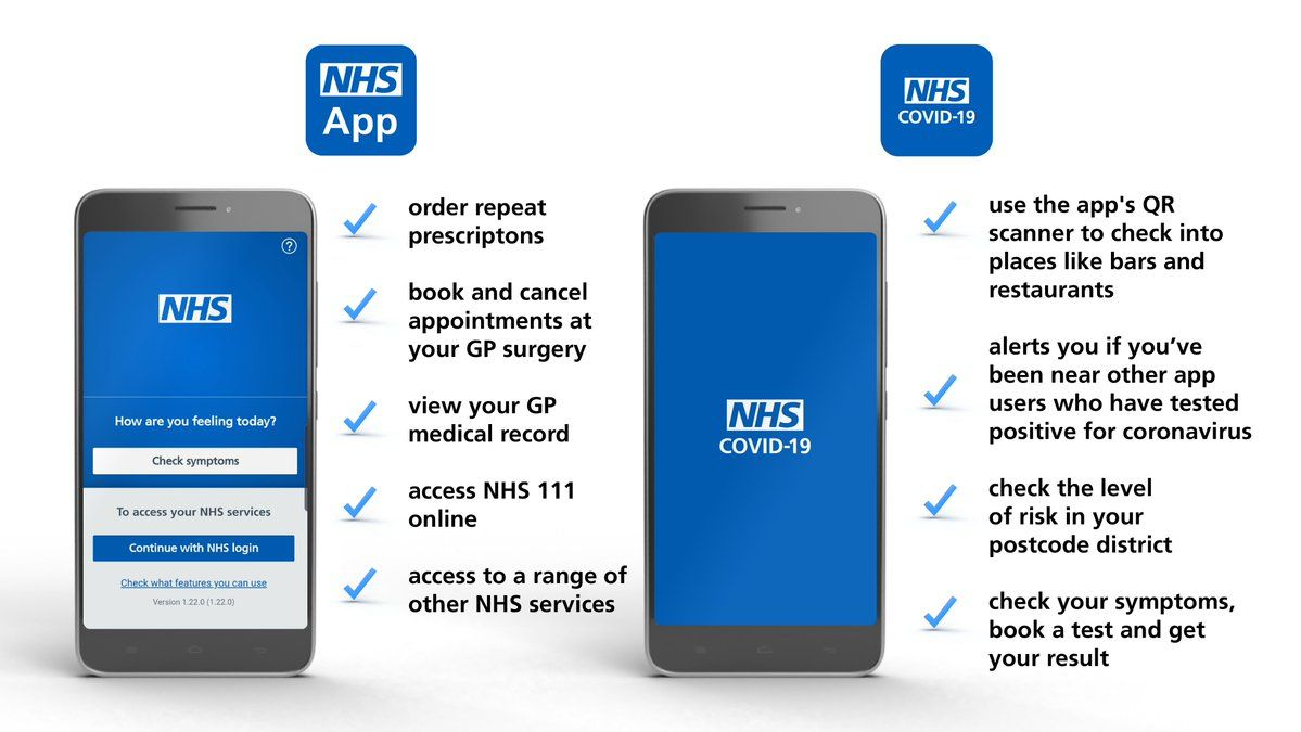 NHS App for Covid19