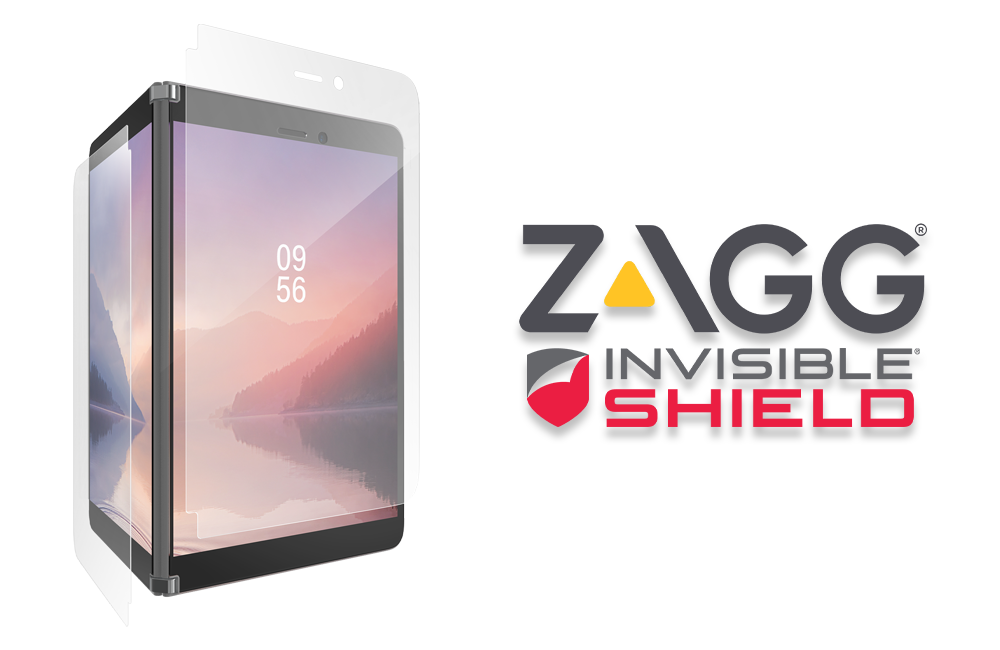 Zagg InvisibleShield GlassFusion+ Surface Duo Screen Protector