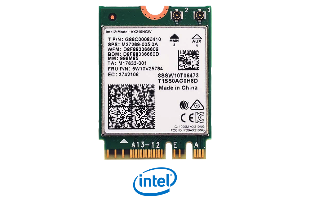 Intel AX210NGW WiFi 6E Card for Laptop