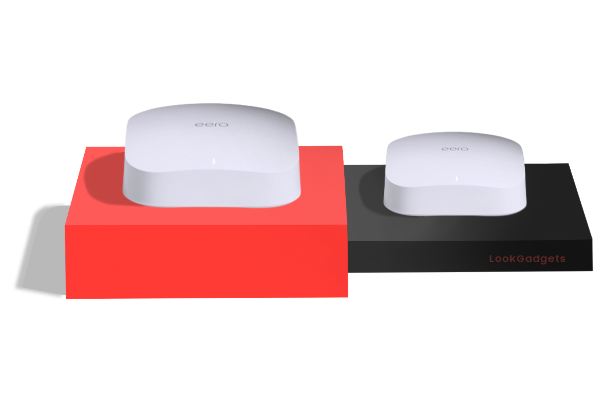 eero Pro 6 - Best Wi-Fi 6 Mesh System for Smart Homes
