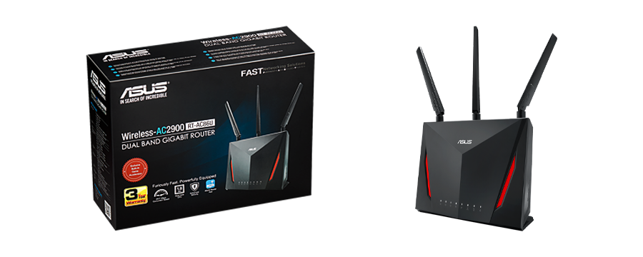 ASUS RT-AC86U Verizon Fios compatible WiFi Gaming Router