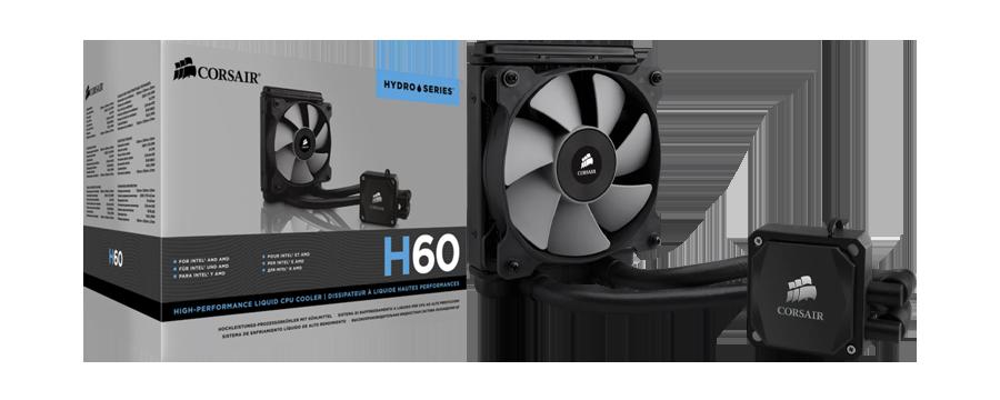Corsair Hydro Series H60 120mm Liquid CPU Cooler