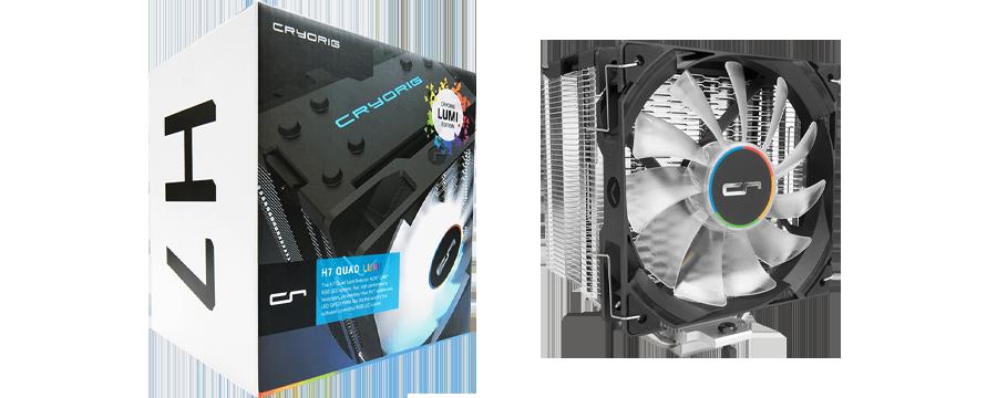 Cryorig H7 Quad Lumi RGB Air Cooler