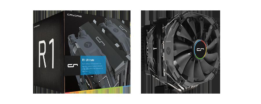 Cryorig R1 Ultimate Dual-Tower Heatsink