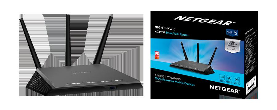 NETGEAR Nighthawk R7000 Smart WiFi Router