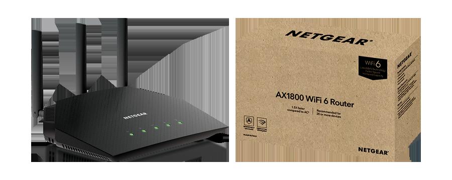 Netgear R6700AX AX1800 Fios compatible router