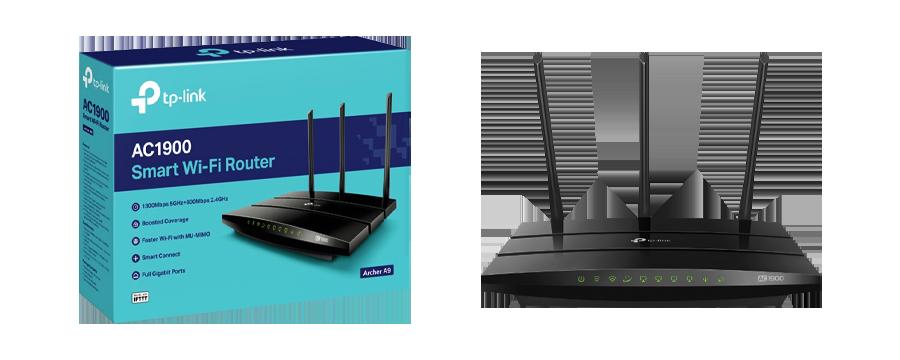 TP-Link Archer A9 Verizon Fios VPN router