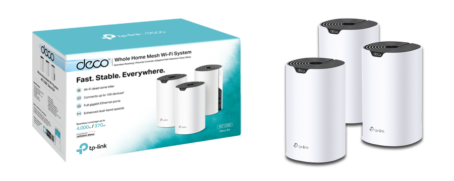 TP-Link Deco S4 Whole Home Mesh Wi-Fi System