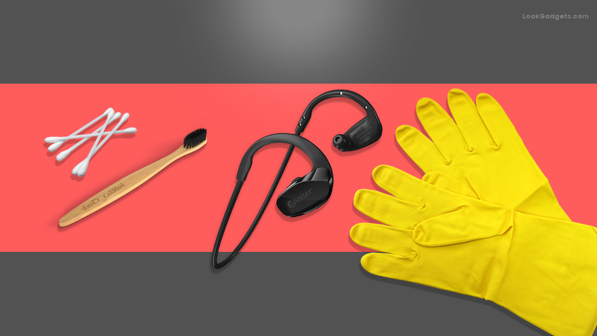 A proper way to clean Headphones and Earbuds