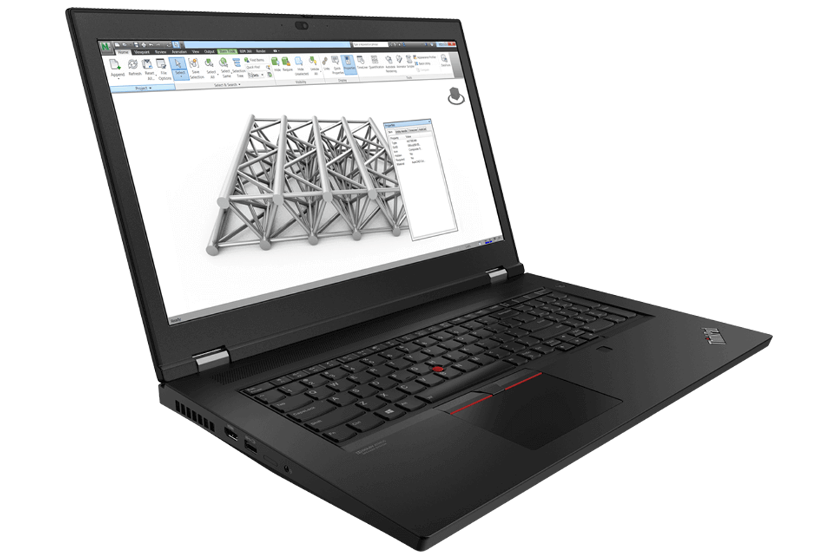 Lenovo ThinkPad P17 Mobile Workstation with i7-10750H