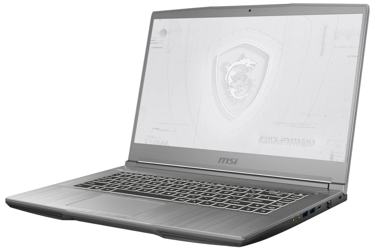 MSI WF65 Mobile Workstation with 10th Gen i7