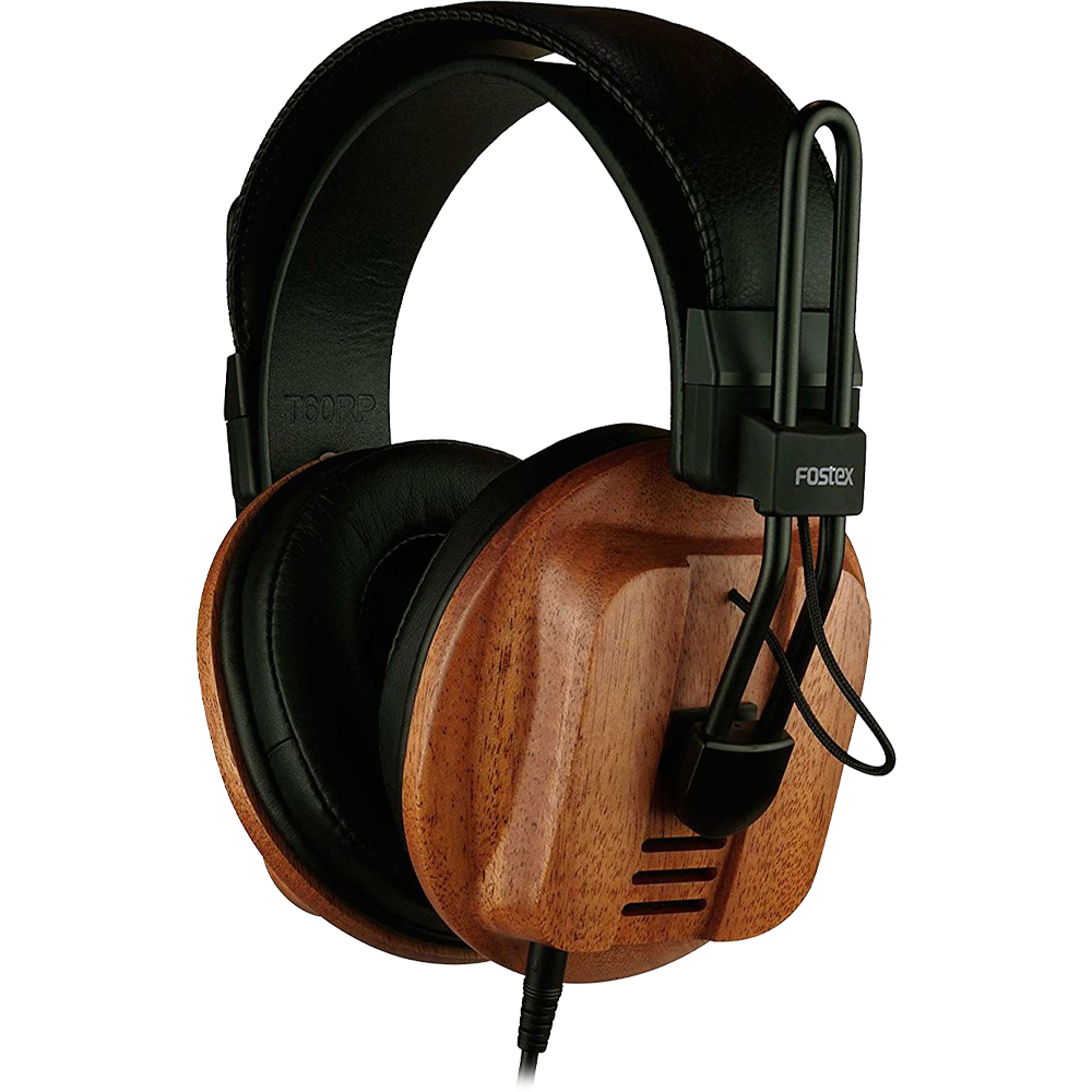 Fostex T60RP is a beautiful wooden design Gaming headphones for Audiophiles